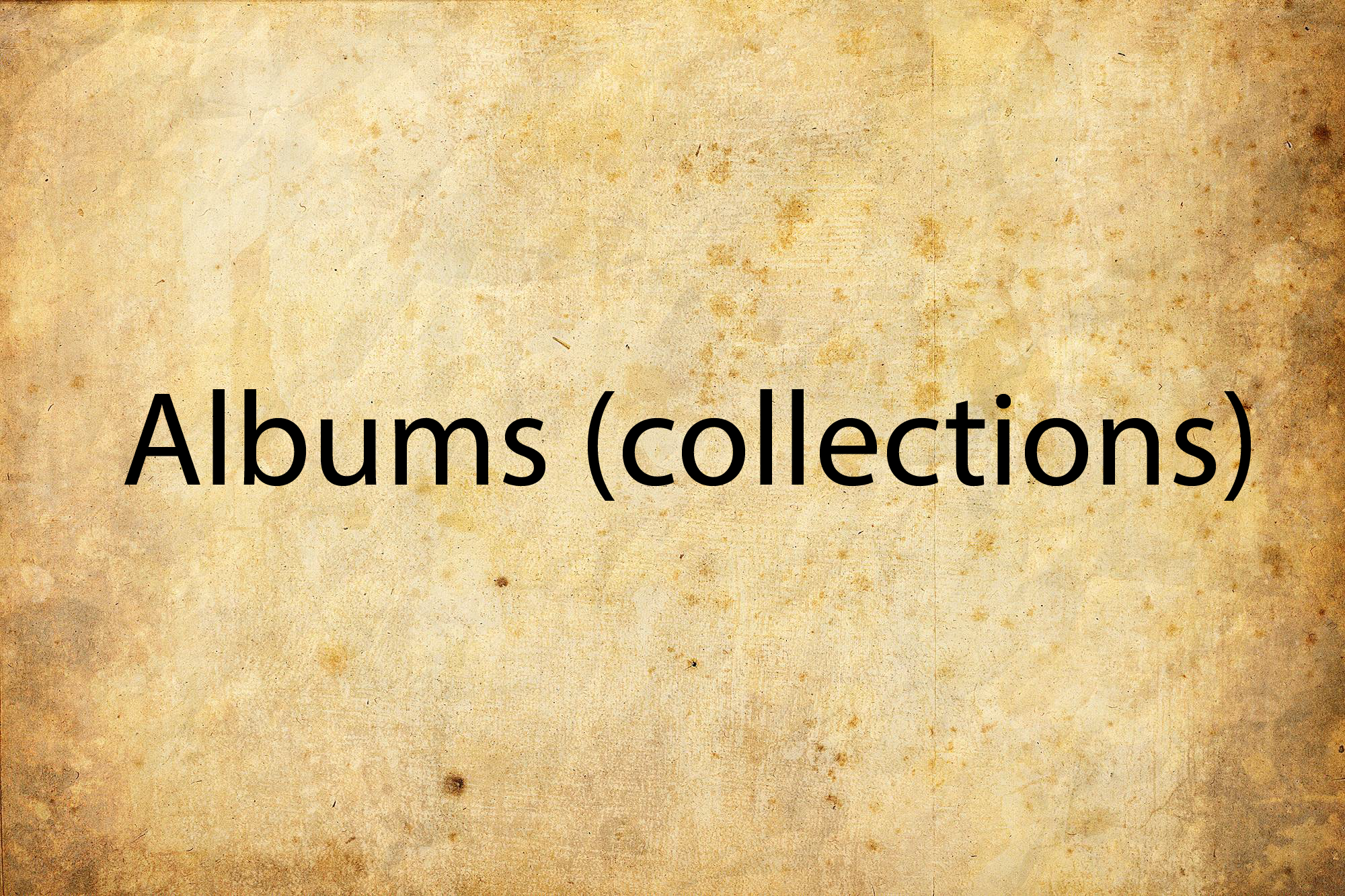 Albums (collections) for violin